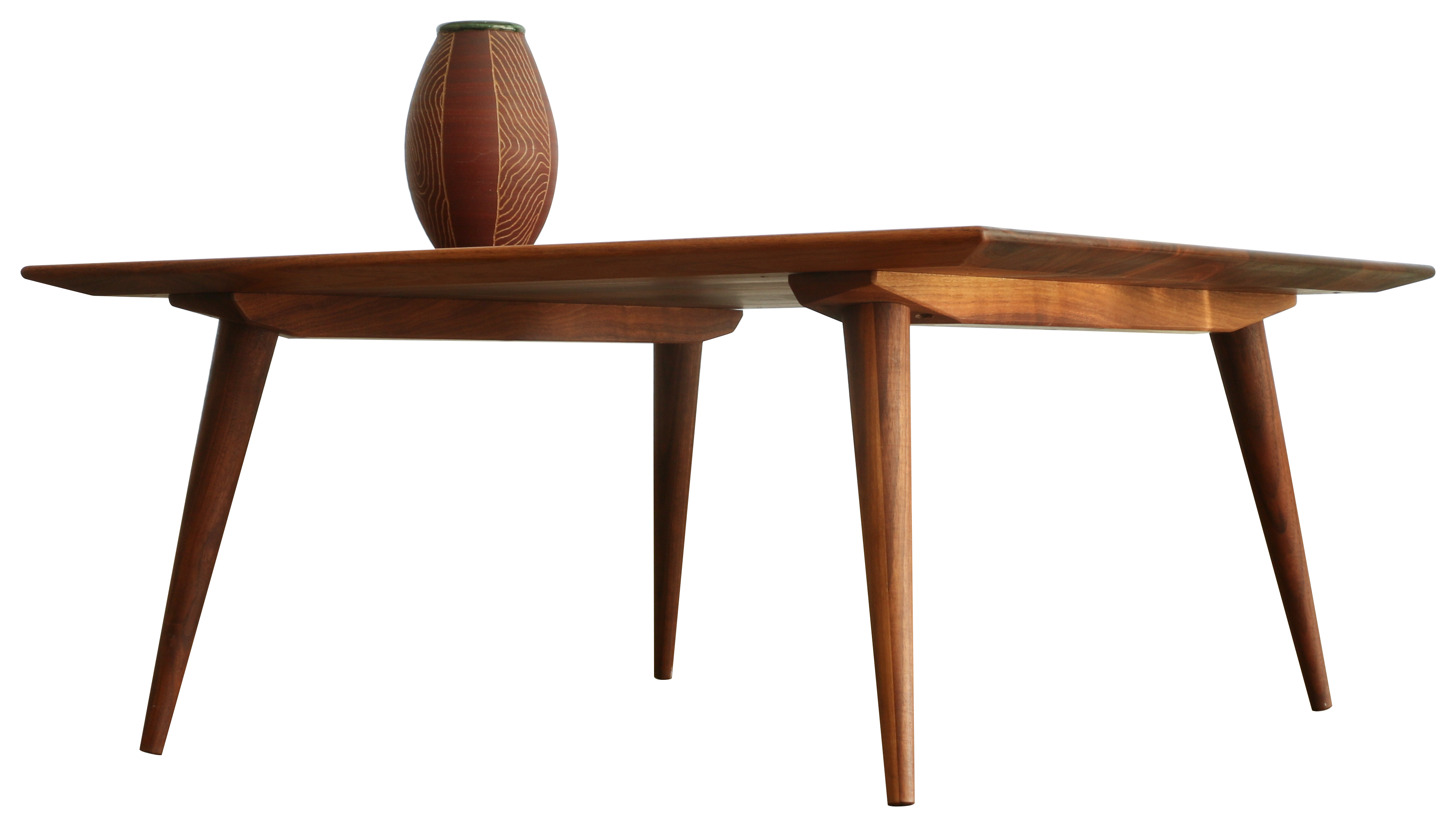 Amazing Mid Century Modern Table Making Made Easy. Coffee  Mccobb Cleats Walnut Hero 4813 Silo