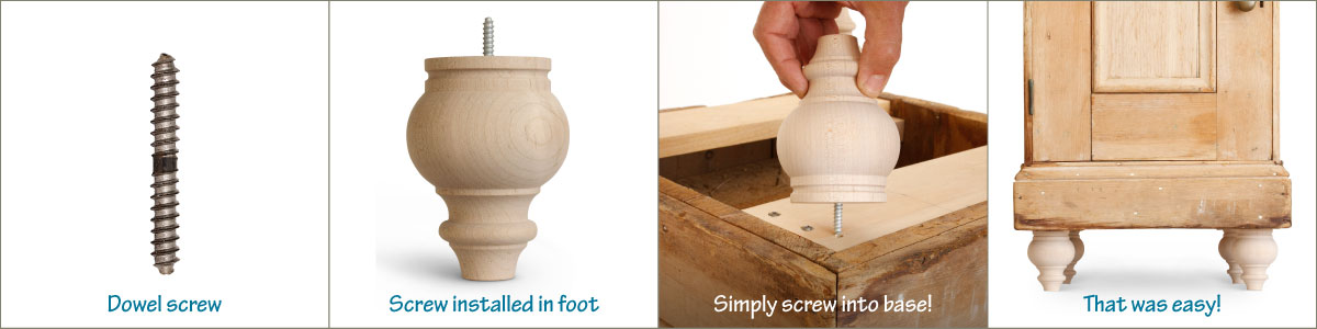 8 Easy Ways To Attach Furniture Feet, How To Attach Sofa Legs