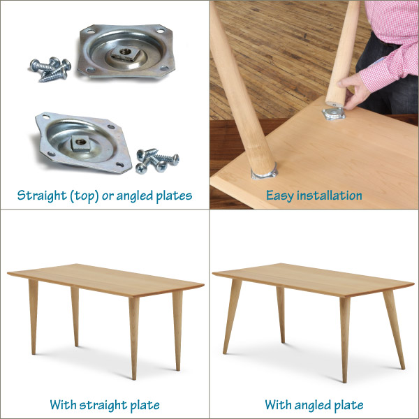 How to attach table legs tablelegs when you buy legs from us youll be able to select from attachment options that work best for that leg here are the 7 table leg attachment methods watchthetrailerfo
