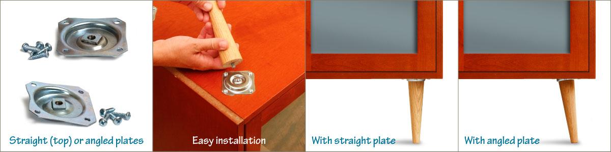 Straight and Angled Metal Plates