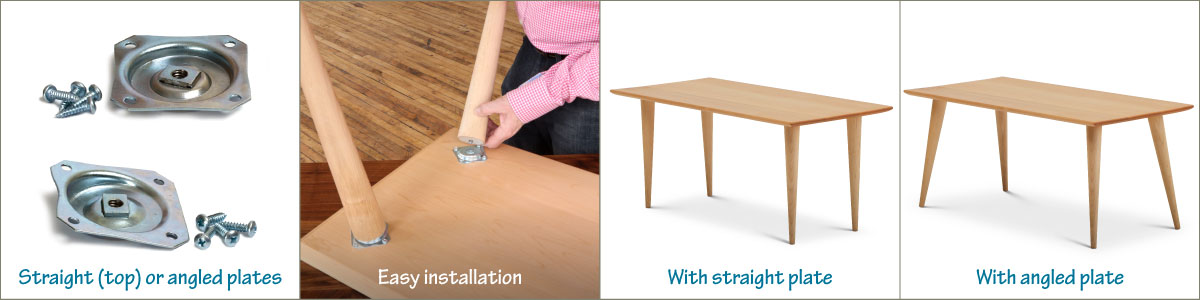 Fantastic 8 Easy Ways To Attach Table Legs Tablelegs Com Gmtry Best Dining Table And Chair Ideas Images Gmtryco