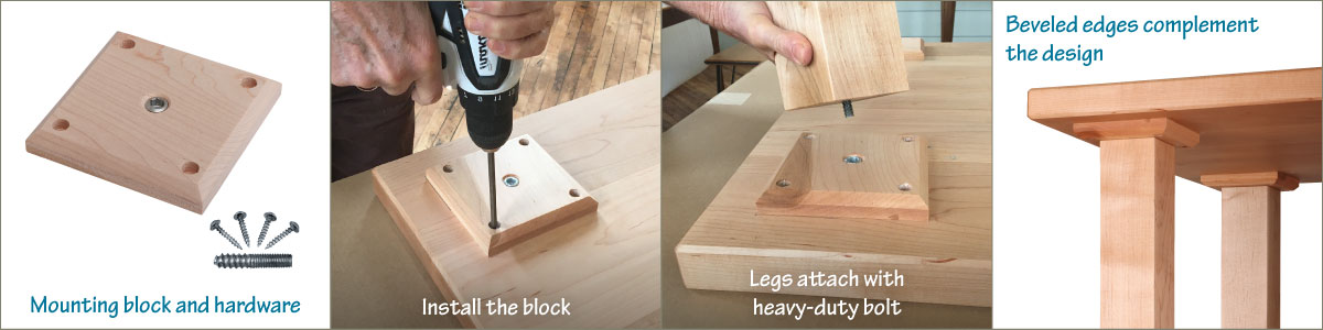 8 Easy Ways To Attach Table Legs Tablelegs