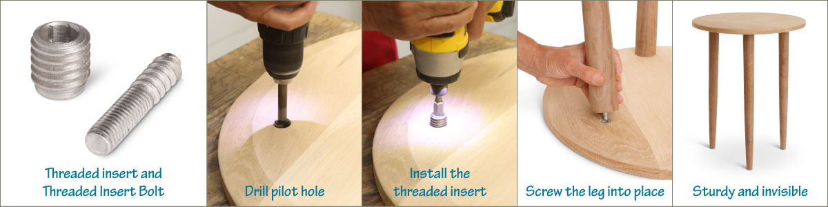 8 Easy Ways To Attach Table Legs - TableLegs com