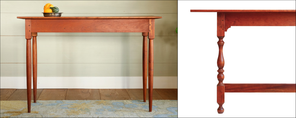 Traditional Tables Prefer Thinner Tops U2014 Generally An Inch Or Less.